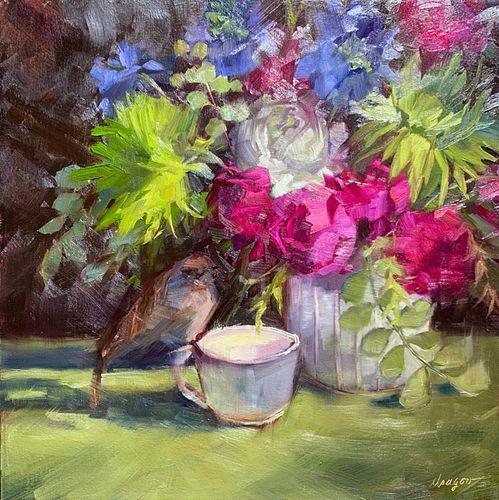Sue Dragoo Lembo, Bird and Tea