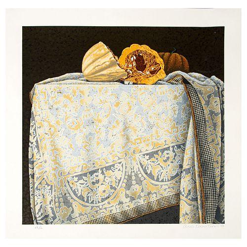 ORIS ROBERTSON (Presidio, Texas, 1937 - Guadalajara, Jalisco, 2002) Sin título Firmada y fechada 86. 55 x 55 cm.
