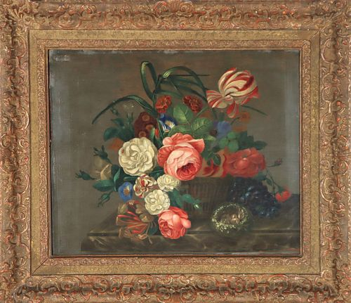 Antique Dutch Old Master Still Life Painting