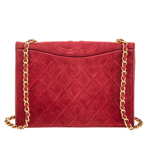 A Chanel Vintage Chain Flap Bag