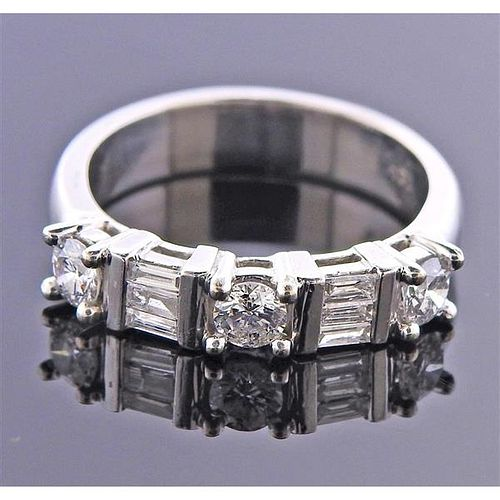 14k Gold Diamond Wedding Half Band RIng
