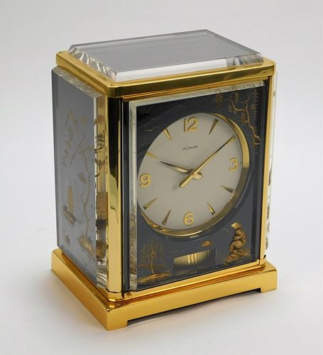Jaeger Lecoultre Atmos Asiatic Chinoiserie Clock