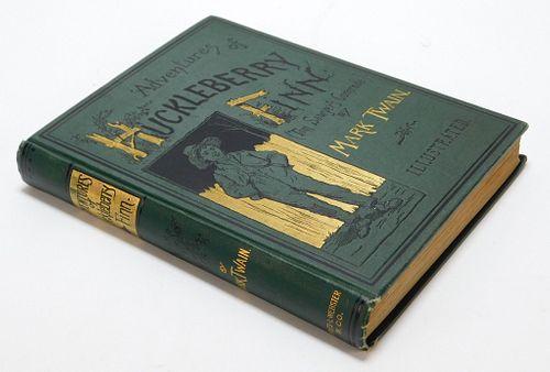 Mark Twain Huckleberry Finn 1885 1st Edition Book