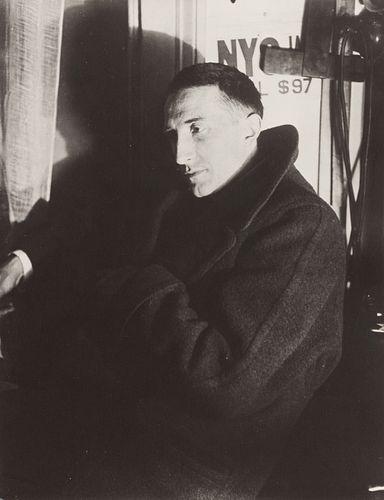 Man Ray (American, 1890-1976) Portrait of Marcel Duchamp