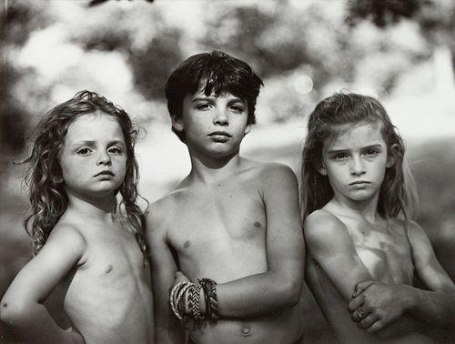 Sally Mann (American, b. 1951) Emmett, Jessie, and Virginia, 1989