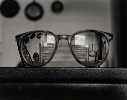 Abelardo Morell (American/Cuban, b. 1948) My Eyeglasses, 1989