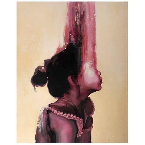 """FEDERICO BARRAULT, Sublimación de la realidad, Signed and dated 2020, Acrylic on canvas, 62.9 x 49.6"""" (160 x 126 cm), Certificate"""