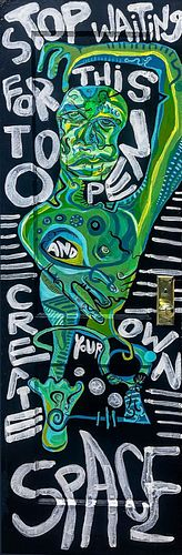 Chella Man (b. 1998), Stop Waiting for this to Open and Create Your Own Space