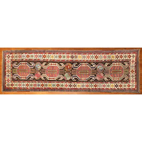 Antique Shirvan Runner, Caucasus, 3.2 x 10