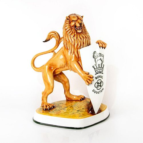 Royal Doulton Colorway Advertising Figurine, Lion