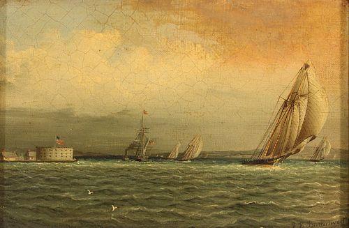 JAMES EDWARD BUTTERSWORTH (AMERICAN, 1817-1894).