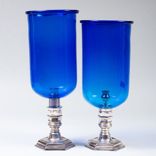 Near Pair of Cobalt and Silvered Photophores