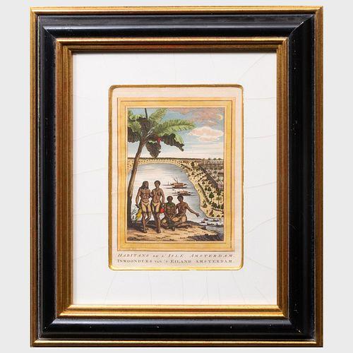 Jakob Van Der Schley (171501779): Danse et Musique de Hottentots; Hottentots Namaquas; Habitants de L'Isle Amsterdam; and Deux Alfouriens Qui Se Batte