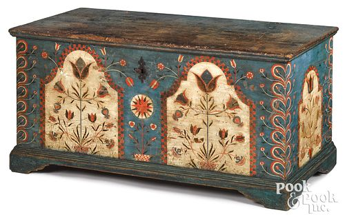 Berks County, Pennsylvania painted dower chest