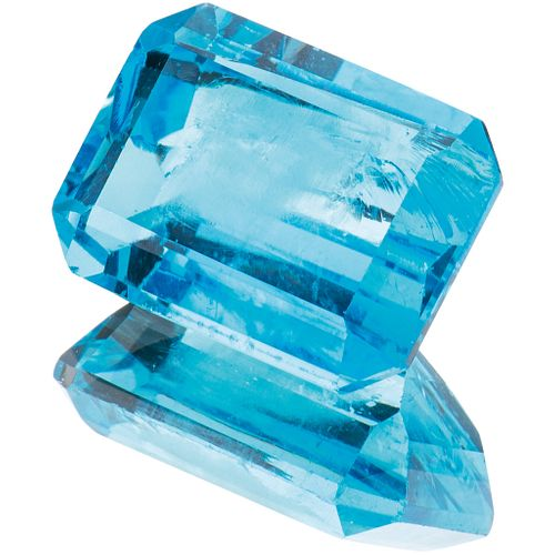 UNASSEMBLED TOPAZ WITH GIA CERTIFICATE Octagonal cut ~20.26 ct  Certificate number: 1166906092