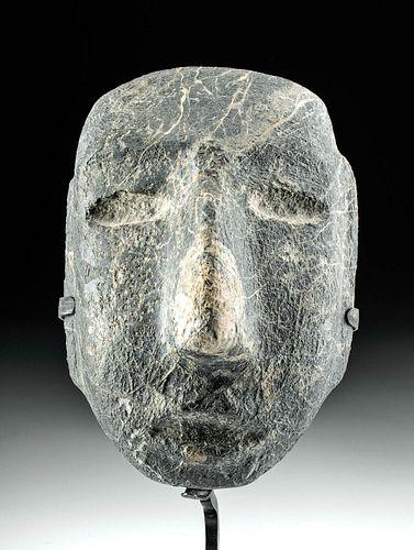 Striking Guerrero Chontal Stone Mask Amazing Veining!