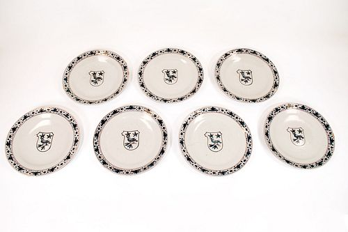 Antique Armorial Plates