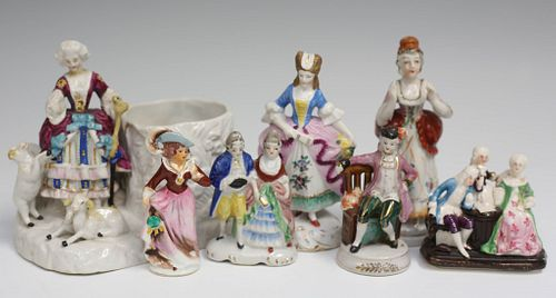Seven Porcelain Figurines
