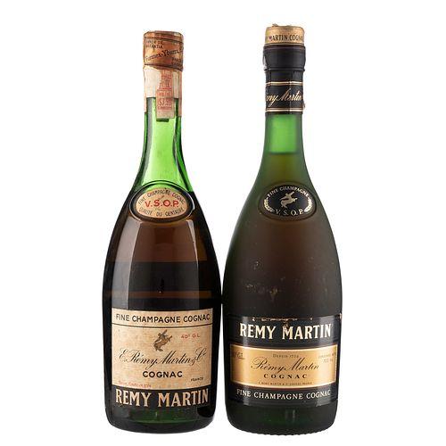 Rémy Martin. V.S.O.P. Cognac. France. Piezas: 2. En presentaciones de 700 ml.