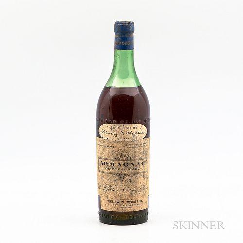 Armagnac de Premier Cru, 1 4/5 quart bottle