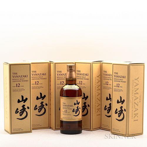 Yamazaki 12 Years Old, 6 750 ml bottles