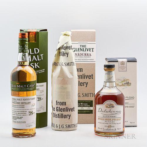 Mixed Speyside, 3 750ml bottles (oc)