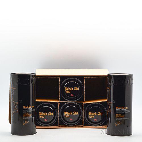 Bruichladdich Black Art 23 Years Old 1990, 6 750ml bottles (ot)