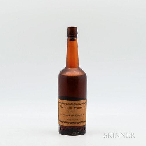 Murdoch Whiskey 1863, 1 bottle