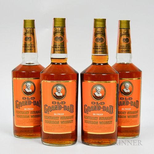 Old Grand Dad, 4 750ml bottles