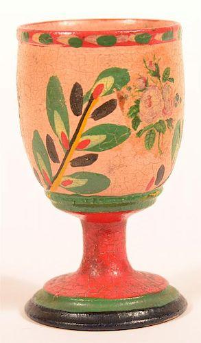 Lehnware Egg Cup. (Joseph Long Lehn)