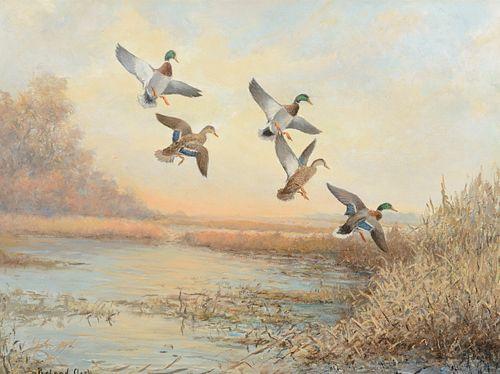 Roland Clark (1874–1957) — Mallards