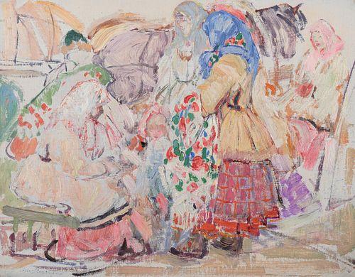 Leon Gaspard (1882–1964) — Russia