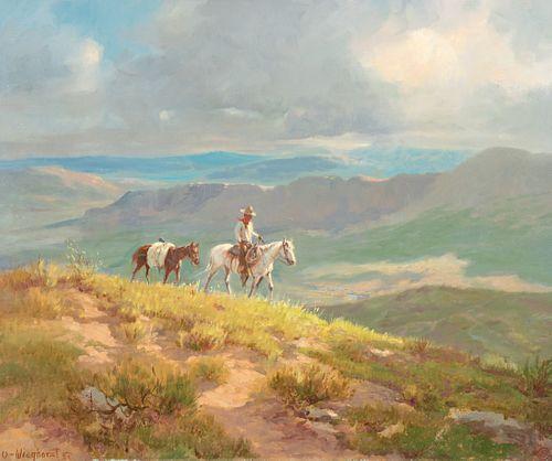 Olaf Wieghorst (1899–1988) — The Trail Home