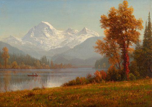 Albert Bierstadt (1830–1902) — Mount Baker, Washington (1891)