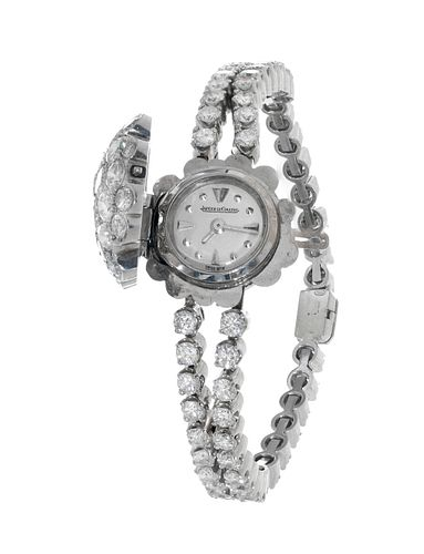 Watch-jewel JAEGER LE-COULTRE for lady.