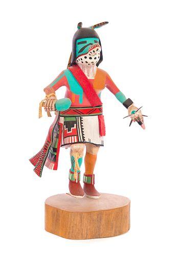 David Roy Hopi Toho Mountain Lion Kachina