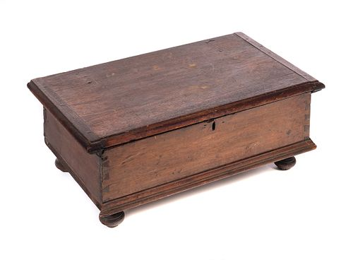 1740 Pennysylvania Queen Anne Bible Box