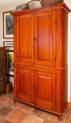 Early 1800's Cherry Cupboard