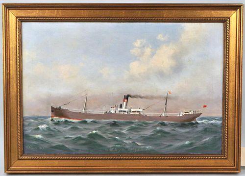 "T.G. Purvis, ""SS Ethylbryhta"" O/C"