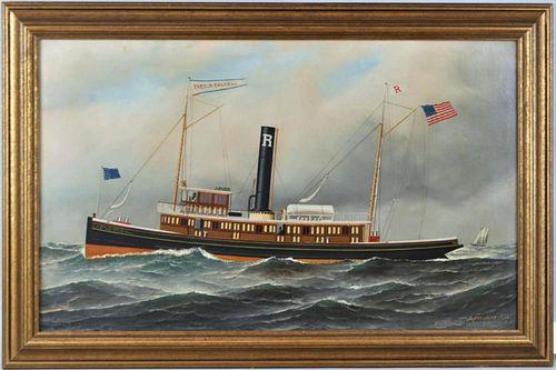 """A. Jacobsen, Tugboat """"Fred B. Dalzell"""" O/C"""