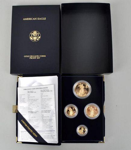 1998W American Eagle Gold Bullion Proof Set
