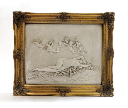 19th C. French Gesso Frame