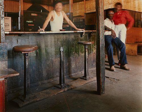 Birney Imes Photograph Men at a Bar