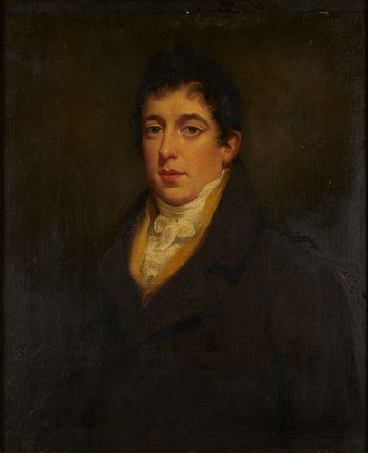 William Owen Portrait of William Ayrton Oil on Canvas