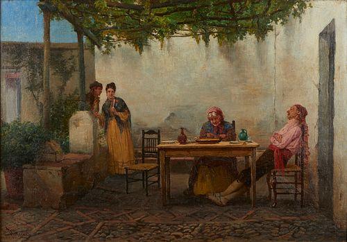 Peter Macnab Oil on Canvas