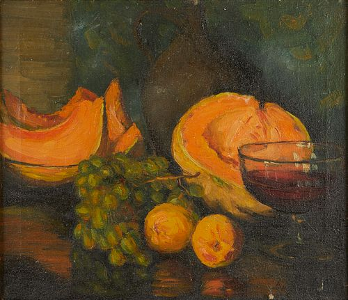 Ada Wolfe Still Life Oil on Canvas