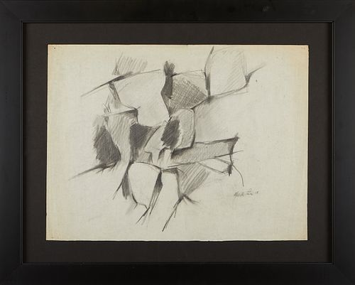 """Melville Price """"New Hope"""" Graphite on Paper"""