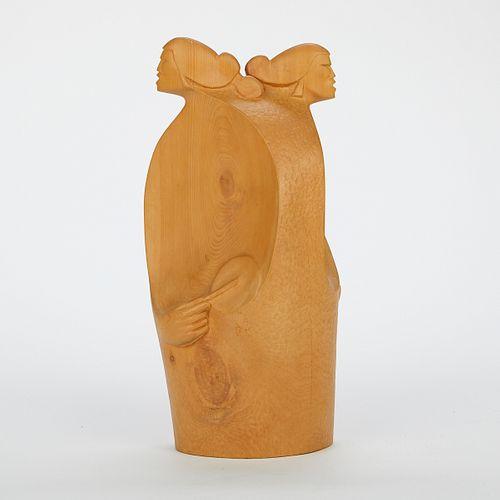 "Robert Shorty ""Untitled (Figurine)"" Sculpture"