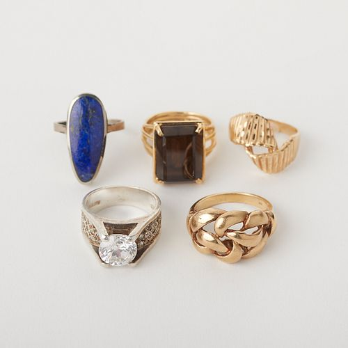 Grp: 5 Women's Rings