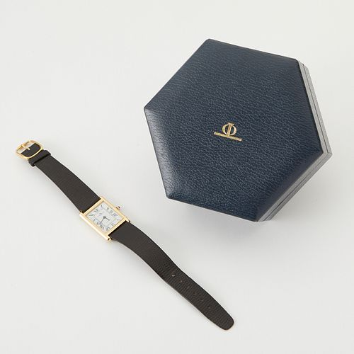 Baume & Mercier 14K Gold Square Watch